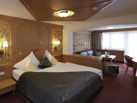 Doppelzimmer zum Wohlfühlen im Hotel Tirol
