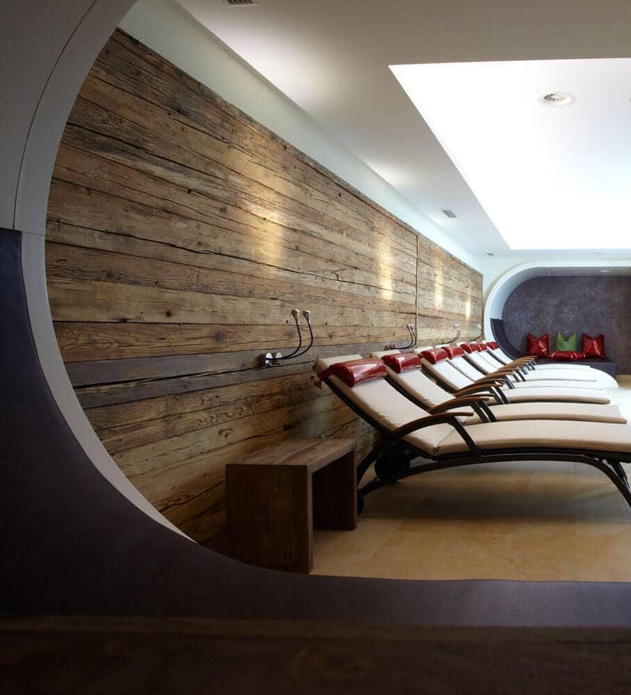Ruhebereich im Hotel Tirol