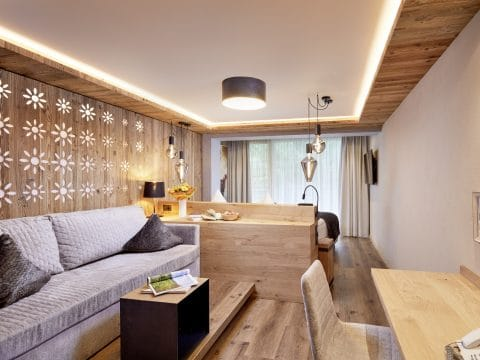Doppelzimmer im Holzdesign