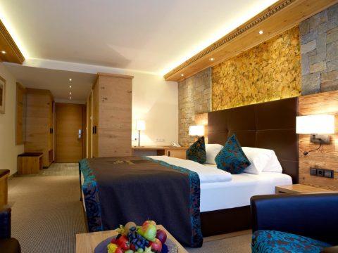 Stilvolles Doppelzimmer in Ischgl